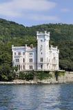 Triest (Italien), Miramare Schloss Lizenzfreies Stockbild