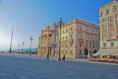 Triest street view Stock Photography
