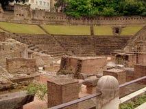 Trieste, anfiteatro Immagine Stock