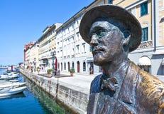 Trieste, arkitekturerna och konster arkivfoton