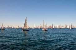 Trieste, Barcolana 2009 - The Trieste regatta Royalty Free Stock Photography