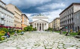 Trieste, Chiesa di Sant'Antonio Taumaturgo Royalty Free Stock Photos