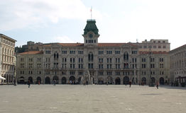 Trieste City Hall Royalty Free Stock Photography