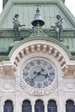 Trieste Clock Bell Royalty Free Stock Images