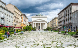 Trieste, di Sant'Antonio Taumaturgo de Chiesa fotos de stock royalty free