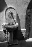 Trieste - fonte no vecchiado città Fotografia de Stock Royalty Free