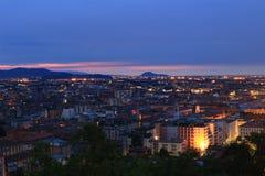 Trieste hermosa, Italia Imágenes de archivo libres de regalías