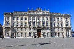 Trieste, Itália. Imagem de Stock