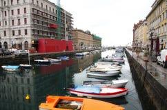 Trieste, Italia Stock Image