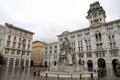 Trieste, Italia Royalty Free Stock Photos