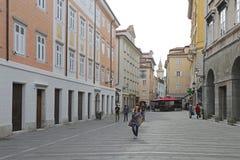 Trieste Italie Images libres de droits