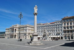 Trieste, italy Royalty Free Stock Image