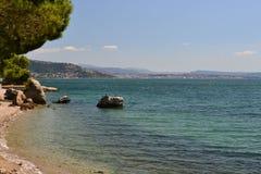 Trieste, Italy. Adriatic Sea, near Trieste, Italy Stock Photos
