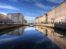 Trieste, Italy. Canal Grande Stock Photo