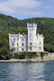 Trieste (Italy), Miramare Castle Royalty Free Stock Image