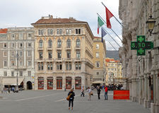 Trieste Italy Stock Photo