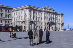 Trieste, Italy. Royalty Free Stock Photography