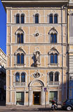 Trieste, Italy - Rusconi house in Exchange Square (Piazza della Royalty Free Stock Images