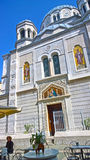 Trieste, Italy - Saint Spyridon Church Stock Images