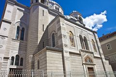 Trieste, Saint Spyridon Church Stock Image