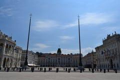Trieste, Italy. Unità d'Italia Square, Trieste, Italy Stock Photo