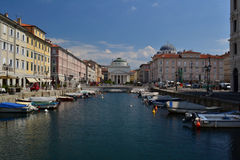 Trieste, Italy Stock Photography