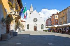 Trieste, le architetture ed arti immagini stock libere da diritti