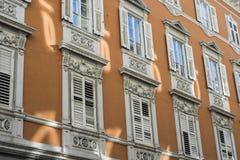 Trieste miasta okno Zdjęcie Stock