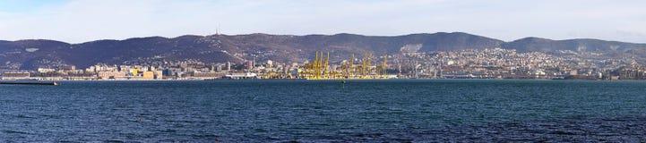 Trieste panorama Stock Photography