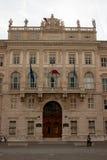 Trieste. Piazza unità d`italia in trieste friuli 2016 Royalty Free Stock Photo