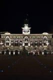 Trieste. Piazza unità d`italia in trieste friuli 2016 Royalty Free Stock Photos