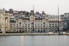 Trieste piazza Unità Royalty Free Stock Photo