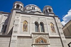 Trieste, Saint Spyridon Church Royalty Free Stock Photo
