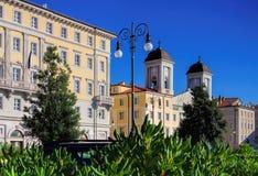 Trieste San Nicolo dei Greci Stock Photography