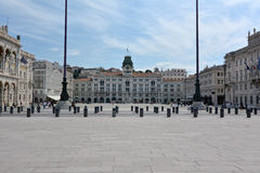 Trieste square Stock Photo