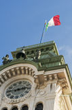 Trieste Town Hall detail Stock Photography