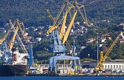 Trieste Włochy, schronienie Obrazy Royalty Free