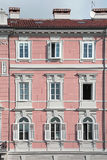 Trieste Windows Royaltyfria Bilder
