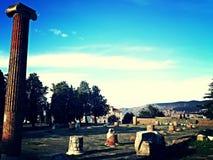 Triests et Roman Empire Images stock