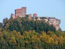 Trifels城堡 库存照片