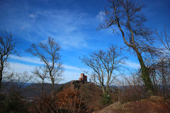 Trifels Castle Royalty Free Stock Photo
