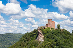 Trifels. The fortress Trifels in Germany on a sunny day Royalty Free Stock Images