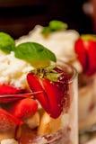 Trifle cake Stock Photos