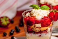 Trifle cake Stock Image