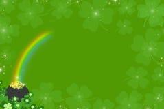 Trifogli irlandesi Fotografia Stock
