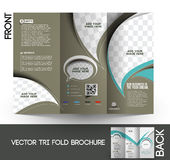 Trifold broschyr för företags affär
