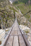 Trift bridge perspective Royalty Free Stock Photography