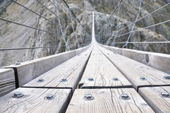 Trift Bridge, Switzerland Royalty Free Stock Photography