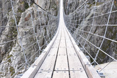 Trift Bridge,Switzerland Stock Photography