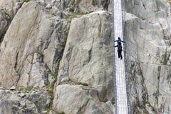 Trift Bridge, Switzerland Stock Image